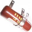 2k7 TR556, rezistor 10W drátový s odbočkou