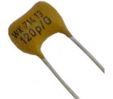 180pF/300V WK71413, slídový kondenzátor