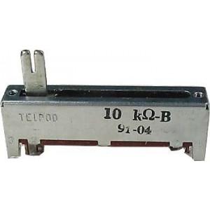 Potenciometr tahový TELPOD 100k/N 45x12x8mm