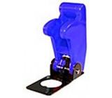 Kryt výklopný na páčkový vypínač modrý
