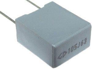 1u/63V CF3 MKT kond.svitek radiální RM7,5