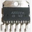 A2000Vm NF zesilovač 2x10W MULTIWATT