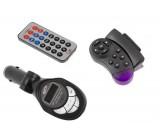 FM modulátor (transmitter) do auta MP3 s ovládáním na volant