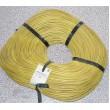 Izolační a ochranná bužírka Kablo 042 4x0,5mm, žlutá, balení 200m