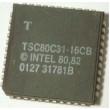 80C31 - 8bit.microcontroler, PLCC
