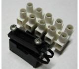 Svorkovnice lámací 5x4mm2 s držákem na kabel