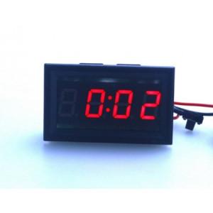 LED digitální hodiny 12-24V s červenými čísly VPAXVOLT serie