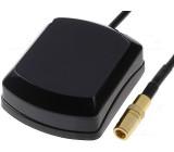 GPS anténa vnitřní SMB-A zástrčka přímý kabel 5m magnet