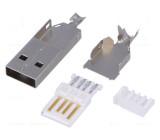 Zástrčka USB A pájení