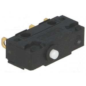 Mikrospínač bez páčky SPDT 5A/250VAC ON-(ON) 1-polohové IP40