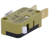 Mikrospínač bez páčky SPDT 12A/250VAC ON-(ON) 1-polohové