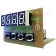 Elektronická stavebnice teploměru -20 °C do +120 °C 12VDC