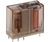 RP421012 Relé elektromagnetické DPDT Ucívky:12VDC 8A max250VAC 270Ω