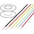 Kabel FLRY licna CU 0,35mm2 PVC šedo-černá 60V