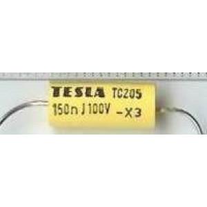 150n/100V TC205 /TC215/, svitkový kondenzátor