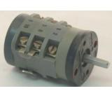 Vačkový spínač VS16 9101 C8, 16A/380V~, 3 polohy 45°-reverzační