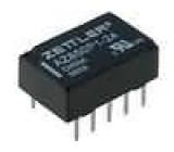 AZ850P1-24 Relé elektromagnetické DPDT Ucívky:24VDC 0,5A/125VAC 1A 50VA