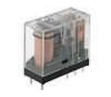 G2R-2-110DC Relé elektromagnetické DPDT Ucívky:110VDC 5A/250VAC 5A/30VDC