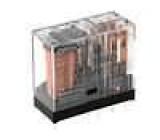 G2R-2-48DC Relé elektromagnetické DPDT Ucívky:48VDC 5A/250VAC 5A/30VDC