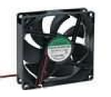 Ventilátor 12VDC 92x92x25mm 67,15m3/h 28dBA kuličkové