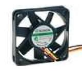 Ventilátor 12VDC 45x45x10mm 19,9m3/h 32,5dBA Vapo 1,32W