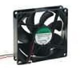 Ventilátor 12VDC 92x92x25mm 127,42m3/h 47dBA kuličkové