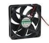 Ventilátor 24VDC 60x60x15mm 37,21m3/h 32,5dBA Vapo 2,04W
