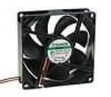Ventilátor 24VDC 92x92x25mm 127,421m3/h 46dBA Vapo 5,28W
