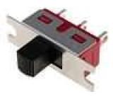 Přepínač posuvný 2 polohy SPDT 2A/250VAC ON-ON Poč.výv:3