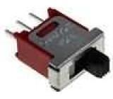 Přepínač posuvný 2 polohy SPDT 1,5A/250VAC ON-ON -20-85°C