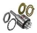 Přepínač otočný 10 poloh 0,15A/125VAC 0,15A/28VDC 36° L:10mm