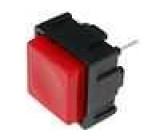 Přepínač mikrospínač bez aretace SPST-NO 0,025A/50VDC 7,5mm
