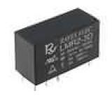 LMR2-3D Relé elektromagnetické DPDT Ucívky:3VDC 5A/250VAC 5A/30VDC