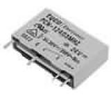 PCN-124D3MHZ Relé elektromagnetické SPST-NO Ucívky:24VDC 3A/240VAC 5A