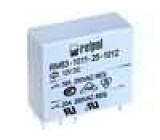 RM83-P-12V Relé elektromagnetické SPDT Ucívky:12VDC 16A/250VAC 16A 0,6W