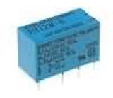 RY-12W-K Relé elektromagnetické DPDT Ucívky:12VDC 0,5A/120VAC 1A