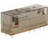 SR4M4024 Relé elektromagnetické 3PST-NO + SPST-NC Ucívky:24VDC 8A