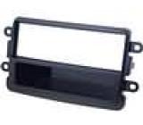 Rámeček pro autorádio 1 DIN Dacia Dokker 2012->, Dacia Duster 2013->, Dacia Lodgy 2012->, Dacia Sandero 2013-> černá lesklá
