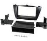 Rámeček pro autorádio 2 DIN Hyundai IX35 (LM) 2010-> černá