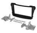 Rámeček pro autorádio 2 DIN Hyundai i40 (VF) 2011/06-> černá