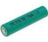Akumulátor - baterie Ni-MH AAA R3 1,2V 700mAh Vlastností nízký +