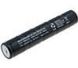 Akumulátor - baterie Ni-MH 6V 3500mAh Ø33x180mm