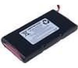 Akumulátor - baterie Li-Ion 11,1V 1850mAh Výv vodiče 52x101x15mm 3,5A