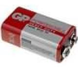Baterie zinko-uhlíková 9V 6F22 POWERCELL
