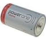 Baterie alkalická 1,5V D Power One Ø34,2x61,5mm 16500mAh