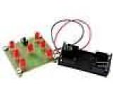 ZSM-NE026 Elektronická stavebnice pro samostatné sestavení hrací kostka 4,5VDC