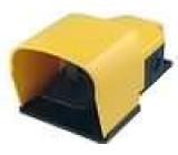 Přepínač nožní 1-polohové SPST-NO + SPST-NC 6A/250VAC IP65