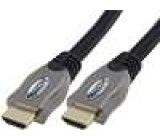 Kabel HDMI 1.4 HDMI vidlice z obou stran 10m černá