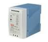 Zdroj spínaný 90W 12VDC 7,5A 85-264VAC 120-370VDC na DIN lištu
