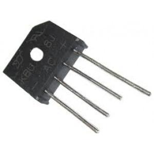 B250C8000 diodový můstek 250V~/8A drát. KBU8J